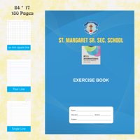Exercise Notebook 17X24-180 Pages