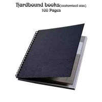 Hard Bound-100 Pages