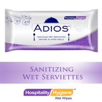 ADIOS  Sanitizing Single Piece Wipes