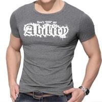 Grey Gym T-Shirts