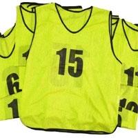 Numbers Sports Training Mesh Bibs
