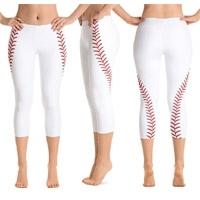 Yoga Pants Sports Fittness Stretch Leggings