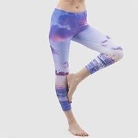 Women Sports Fitness Stretch Leggings Trousers