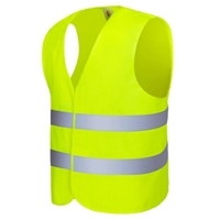 Safety Vest Hi-vis Reflective Jacket Zipper