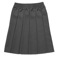 Ladies All over School Uniform Waist Skirts