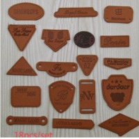 Die Cut Leather Tags