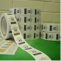 Printed Paer Adhesive Label