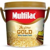 Multilac 24K Glitter Gold Paint