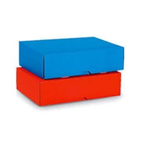 Coloured Corrugated Boxes