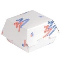 Plain And Printed Burger Boxes