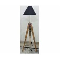 Nautical Floor Teak Wood Lamp Stand