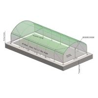 Nethouse (Dome Shape & Flat Roof)