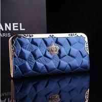 New Women Paint Leather Clutch Brand Wallet