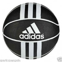 Adidas Rubber Black & White Basketball