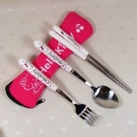 Stainless Steel sticks Fork Spoon 3 in 1