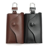 Genuine Leather Men's Key Holder Accessory