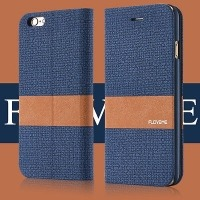 Magnetic Wallet Leather Cover For I Phone