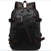 Men's Vintage Backpack PU Leather