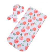 Baby Fruit Swaddle Blanket Baby
