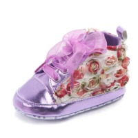 New Style Floral Print First Walkers