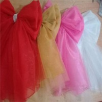 Deluxe Tulle and Organza Door Bows