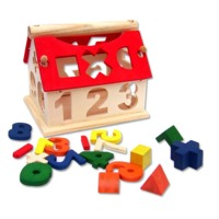Wooden Building Blocks Educational Toys for Kids