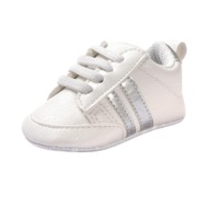 PU Leather Baby Sports Shoes