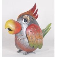 Silver Bird Lantern Decor