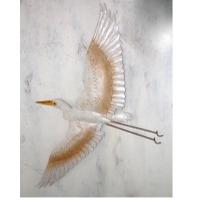 Flying Heron 1 Wall Decor