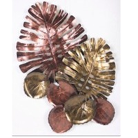 Philodendron Leaves Wall Decor