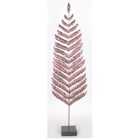 Leaf-Fern 2 Candle Holder