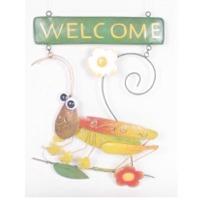 Welcome Sign-Grasshoper