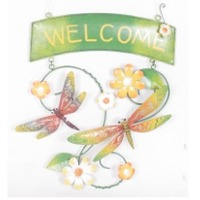 Welcome Sign-Butterfly