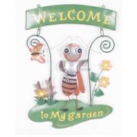 Welcome Sign-praying Manthis
