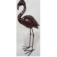 Flamingo Crazy Weave Decor
