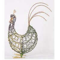 Rooster Crazy Weave Decor