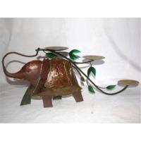 Elephant Decor with 3 Candle Holder