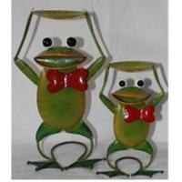 LS Multicolr Green Frog