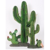 LS Cactus with Candle Holder