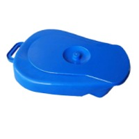 OML Bed Pan With Lid Autoclavable Polypropylene