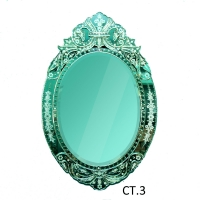 Chantique Oval Gothic Mirror