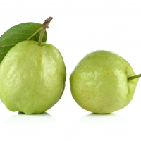 White And Pink Guava Fruits