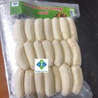 Frozen Whole Peeled Saba Banana