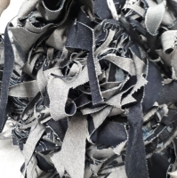 Cotton Denim Fabric Waste Or Clips