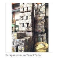 Aluminum Taint Or Tabor Scrap