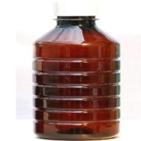 Brown Plastic Agro Chemical Bottle