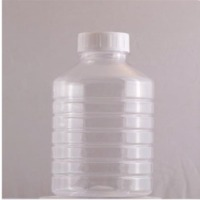 Clear Plastic Agro Chemical Bottle