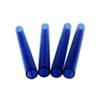 Blue Borosilicate 3.3 Glass Tube