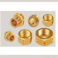 Brass Solder Nut & Nipple Set