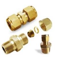 Brass Double Ferrule Tube Fittings